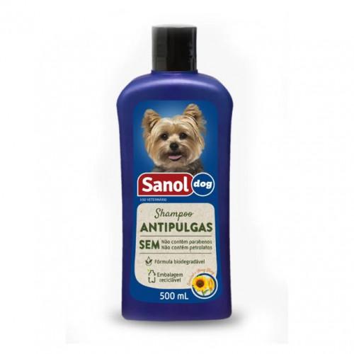 Shampoo Antipulgas Sanol 5L